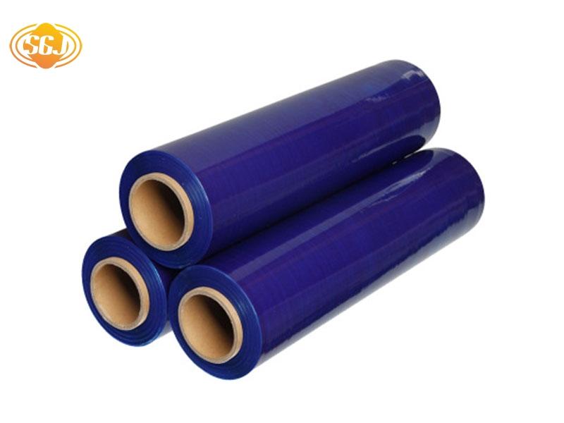 蓝色缠绕膜拉伸膜