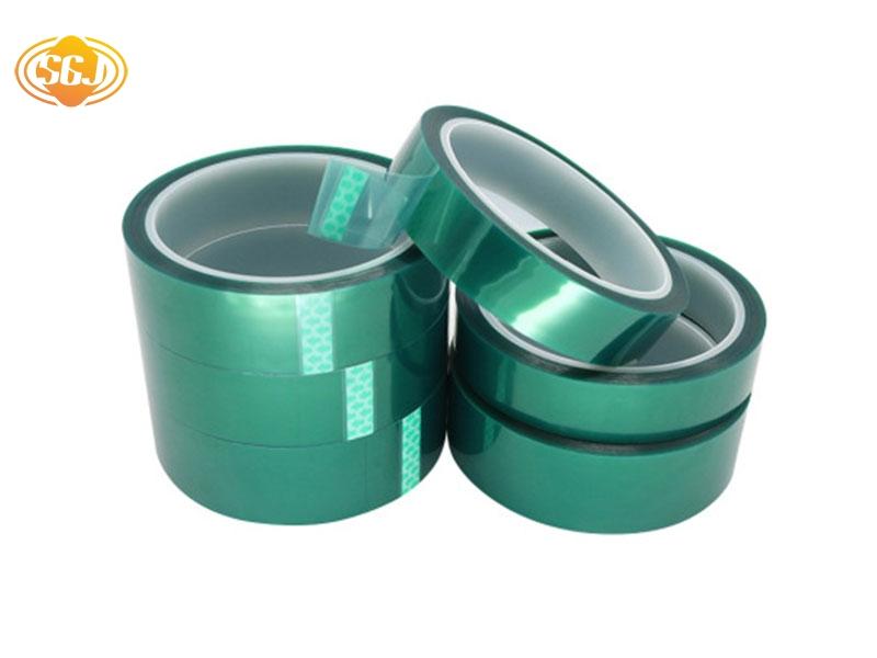 绿色PET五金烤漆胶带